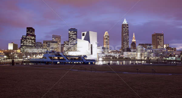 Cleveland panorama Stock photo © benkrut