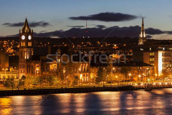 Panorama of Derry Stock photo © benkrut