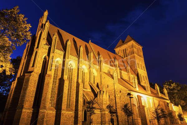 St. James Church in Torun Stock photo © benkrut