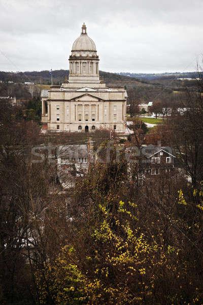 Frankfort, Kentucky - State Capitol Building Stock photo © benkrut