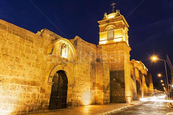 Monasterio de Santa Catalina in Arequipa  Stock photo © benkrut