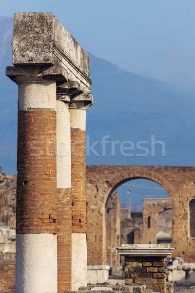Pompei ruins Stock photo © benkrut