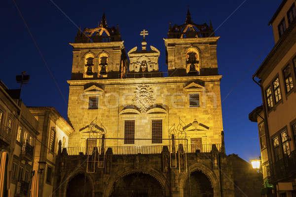 собора рассвета регион Церкви Skyline архитектура Сток-фото © benkrut