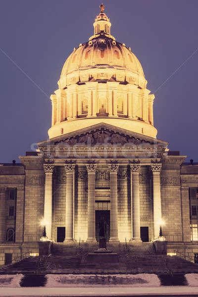 Jefferson City, Missouri - State Capitol Building Stock photo © benkrut