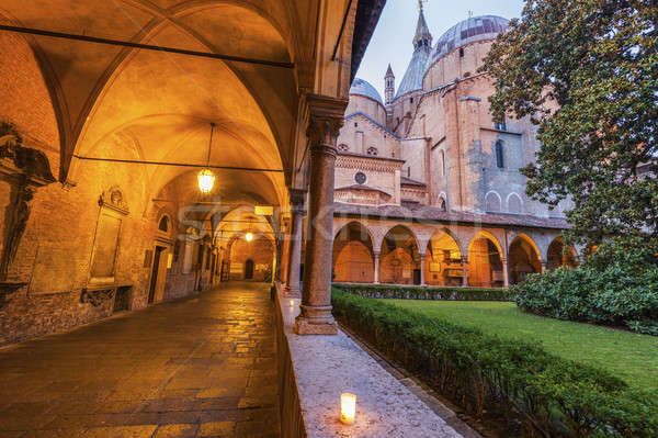 Basilica of St. Anthony in Padua Stock photo © benkrut