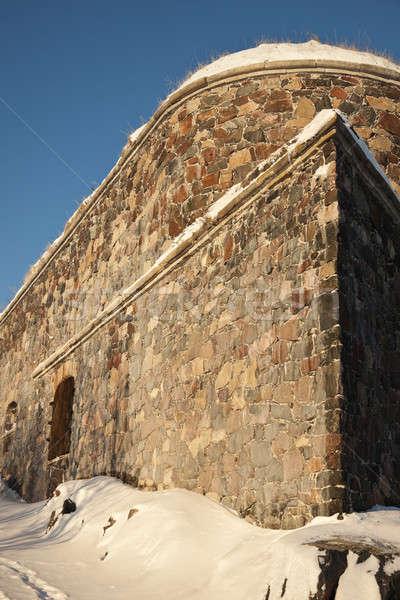 Mer forteresse Helsinki Photo stock © benkrut