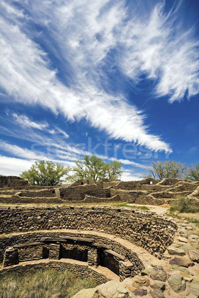 Aztec Ruins in New Mexico Stock photo © benkrut