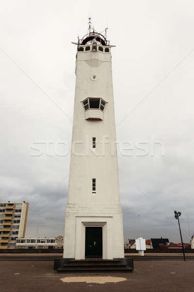 Noordwijk Lighthouse  Stock photo © benkrut