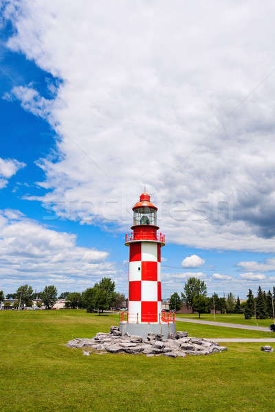 Yarış deniz feneri Ottawa ontario Kanada çim Stok fotoğraf © benkrut