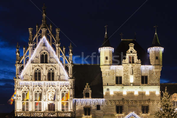 Mechelen City Hall Stock photo © benkrut