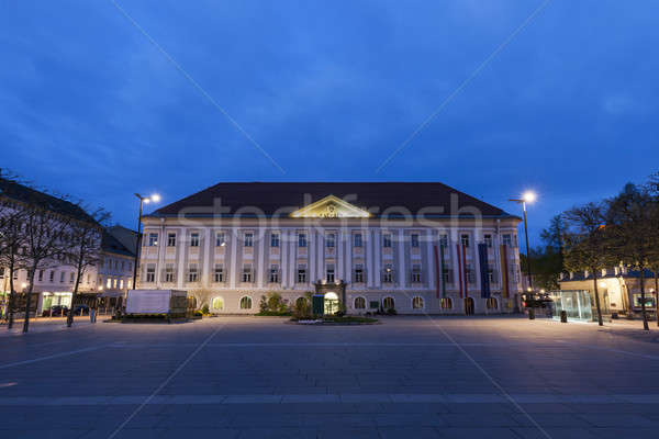 Neues Rathaus on Neuer Platz in Klagenfurt Stock photo © benkrut