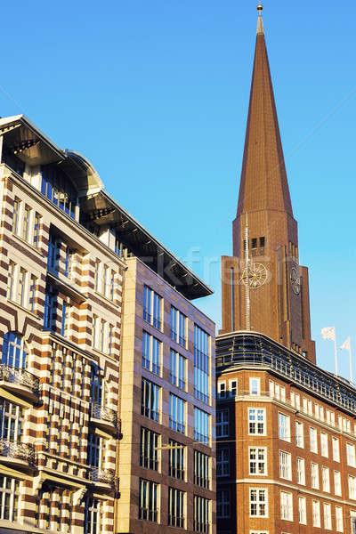 St. Peter's Church in Hamburg Stock photo © benkrut