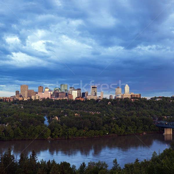 Panorama of Edmonton. Edmonton, Alberta, Canada Stock photo © benkrut