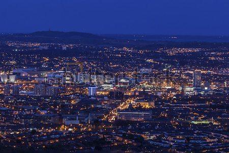 антенна Панорама Белфаст Ирландия Великобритания Сток-фото © benkrut