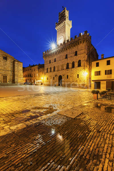 Piazza Grande in Montepulciano   Stock photo © benkrut