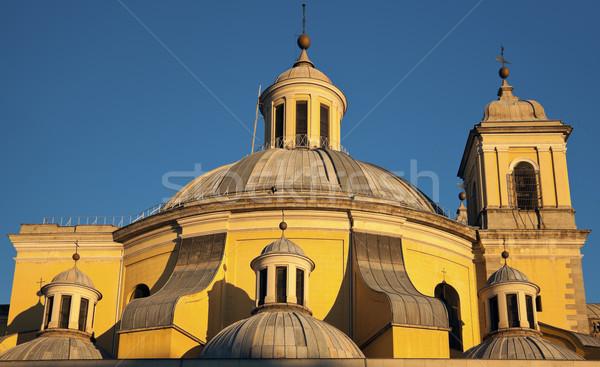 Real Basílica de San Francisco el Grande in Madrid Stock photo © benkrut