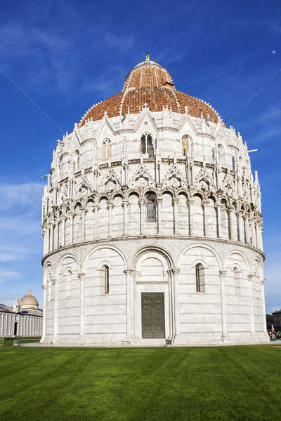 Baptistery in Pisa Stock photo © benkrut