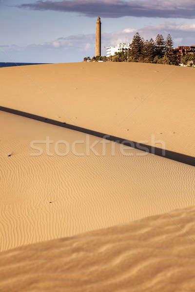 Faro canarias España cielo paisaje Foto stock © benkrut