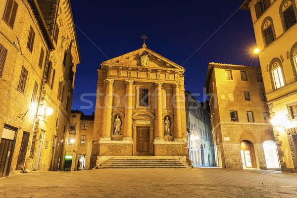 Old town in Siena Stock photo © benkrut