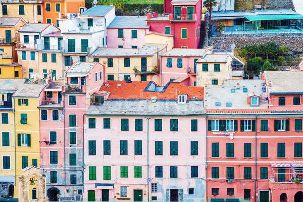 Vernazza - colorful architecture Stock photo © benkrut