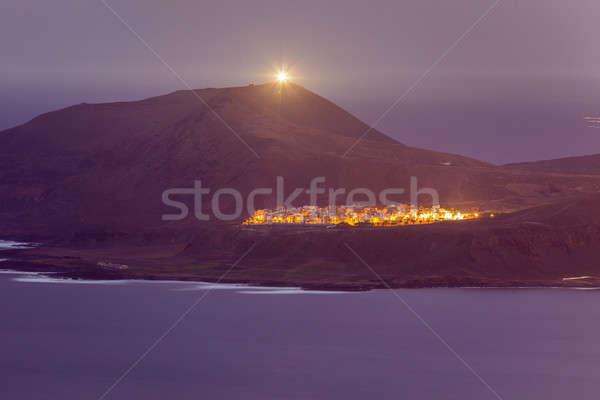 Gran Canaria panorama Stock photo © benkrut