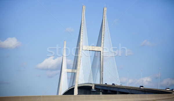 Sidney Lanier Bridge in Brunswick  Stock photo © benkrut