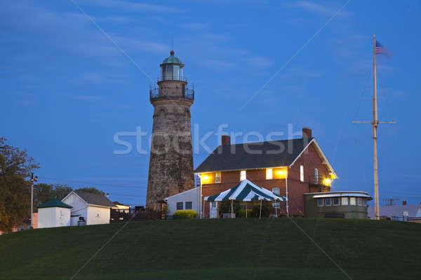 Stok fotoğraf: Liman · deniz · feneri · Ohio · akşam · zaman