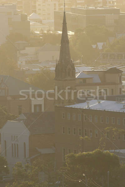 Church in Newcastle, NSW  Stock photo © benkrut