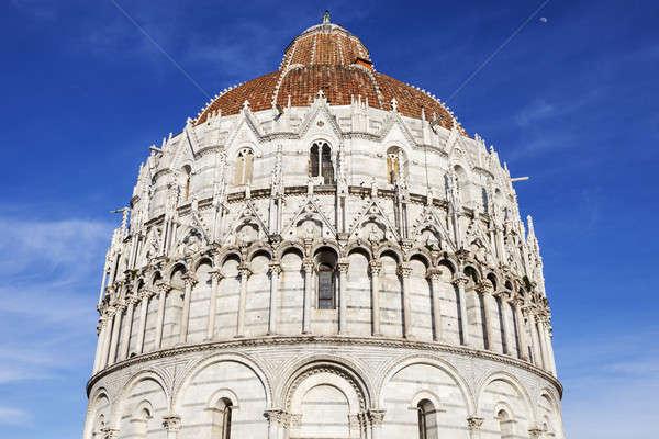 Baptistery in Pisa Stock photo © benkrut