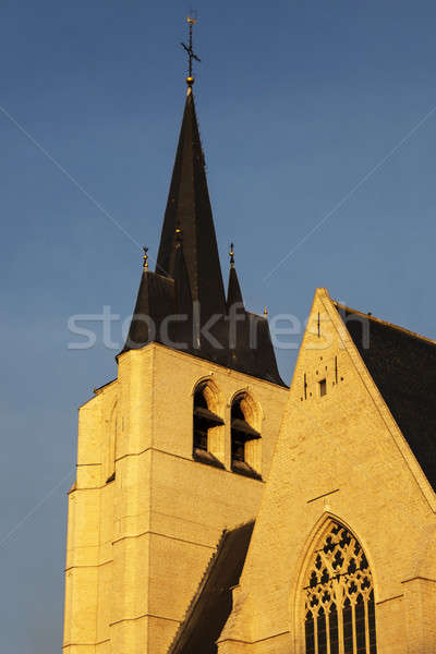Saint John's Church in Mechelen Stock photo © benkrut