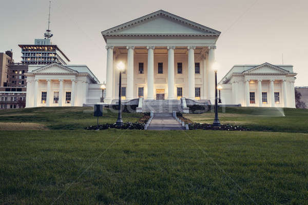 Richmond - State Capitol Building Stock photo © benkrut