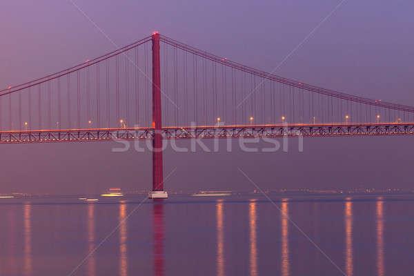 25 ponte céu cidade viajar rio Foto stock © benkrut