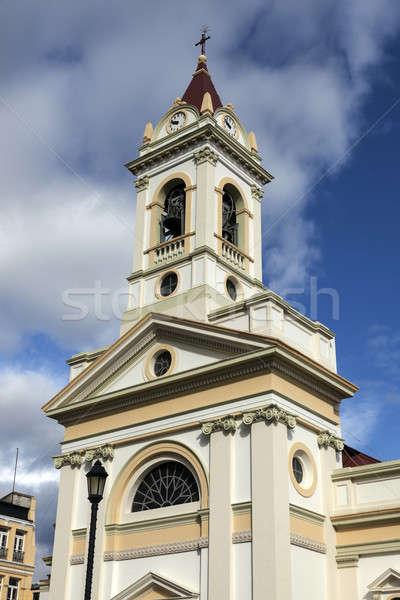 Church in Punta Arenas, Chile Stock photo © benkrut