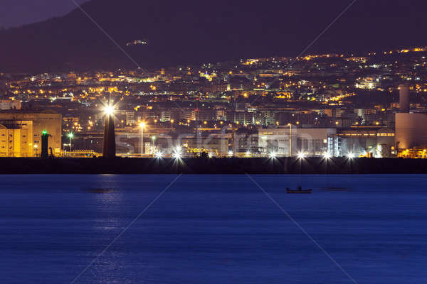 Naples lighthosues Stock photo © benkrut