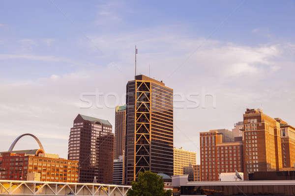 St. Louis, Missouri - view of the city Stock photo © benkrut