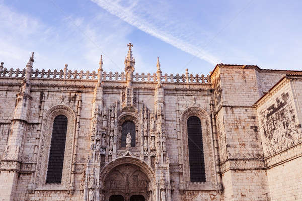 Jeronimos Church in Belem Stock photo © benkrut