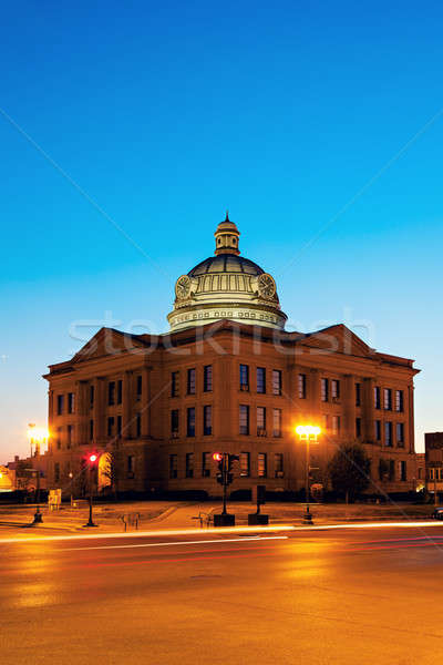 Old courthouse in Lincoln Stock photo © benkrut