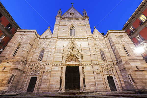 Naples Cathedral Stock photo © benkrut