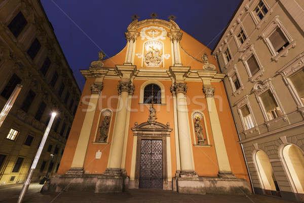 Dreifaltigkeitskirche in Graz Stock photo © benkrut