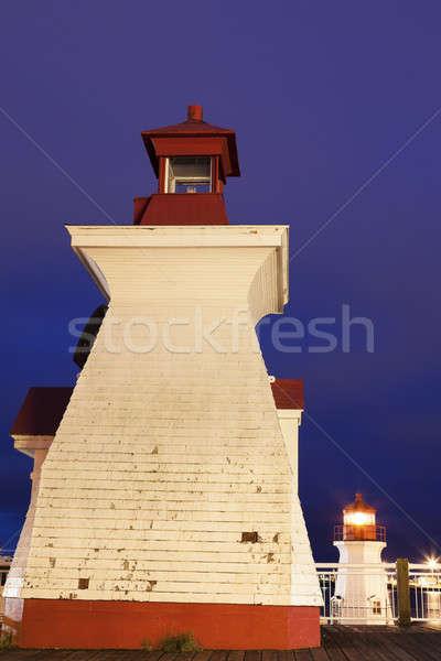 St John Lighthouses  Stock photo © benkrut