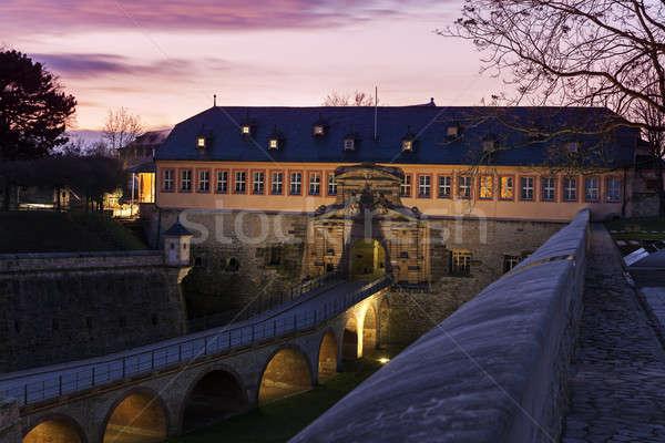 Citadel Petersburg in Erfurt  Stock photo © benkrut