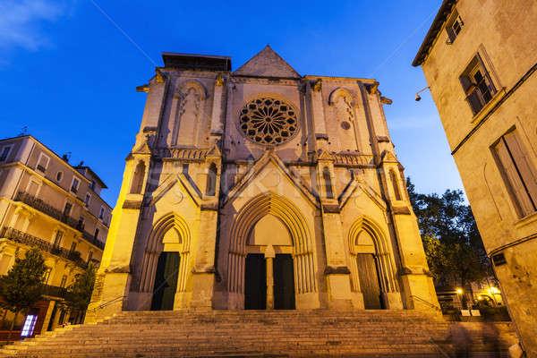 Saint Roch Church in Montpellier Stock photo © benkrut