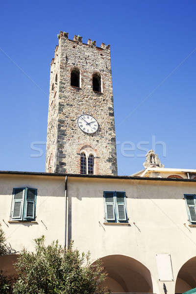 Monterosso clock tower Stock photo © benkrut