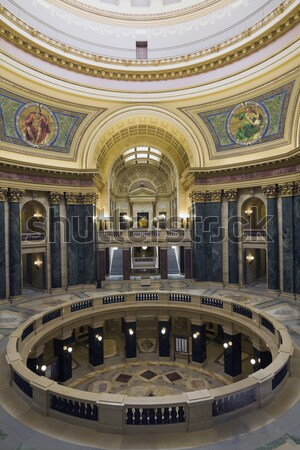Interior of Manitoba Legislative Building in Winnipeg Stock photo © benkrut
