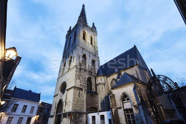 Sint Geertrui Church in Leuven Stock photo © benkrut