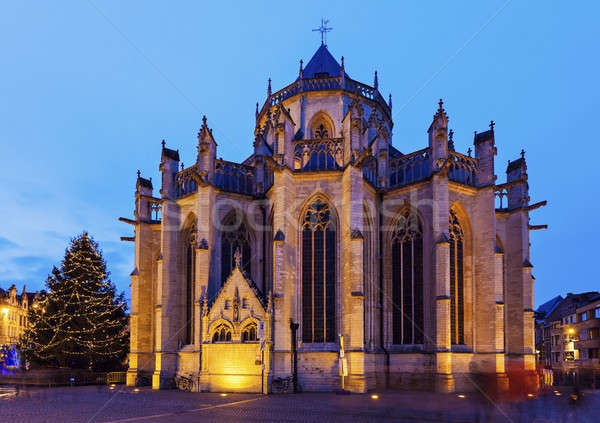 St. Peter's Church in Leuven Stock photo © benkrut