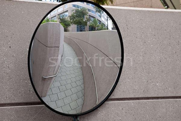 Mirror on the corner Stock photo © benkrut