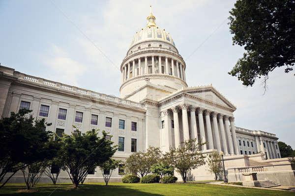 Costruzione Virginia Occidentale USA cielo viaggio governo Foto d'archivio © benkrut
