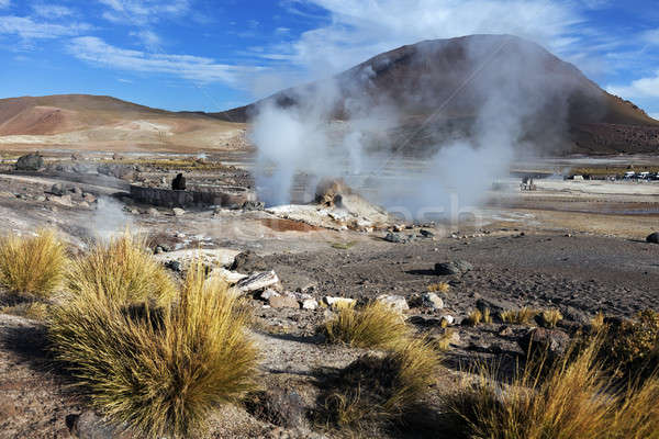 El Tatio Geysers in Chile Stock photo © benkrut