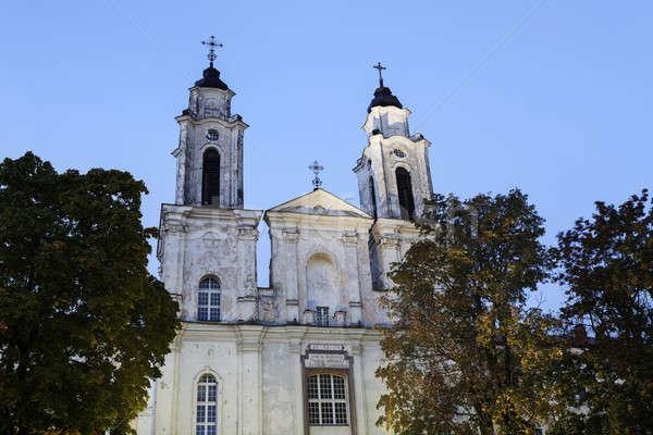 Church of St. Francis Xavier  Stock photo © benkrut
